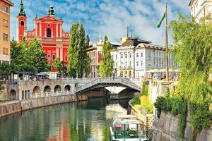 Lądowanie w Lublanie